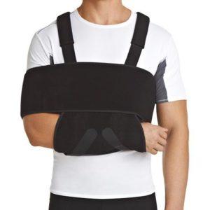 Бандаж на плечевой сустав и руку (модифицированная повязка Дезо)