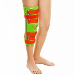 Ортез (тутор) на коленный сустав, разъемный, детский