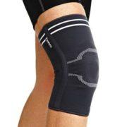 Ортез на коленный сустав, со спиральными ребрами жесткости