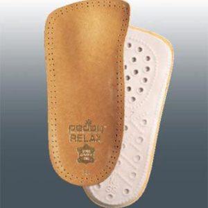 Ортопедические полустельки для закрытой обуви с каблуком до 4 см