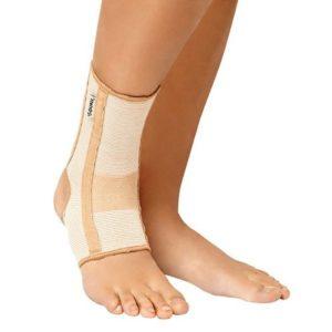Бандаж на голеностопный сустав со спиральными ребрами жесткости