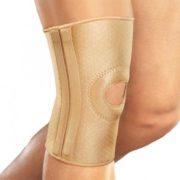 Бандаж на коленный сустав, со спиральными ребрами жесткости