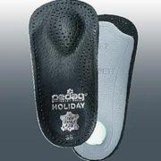 Ортопедическая каркасная полустелька для закрытой обуви с каблуком до 4 см