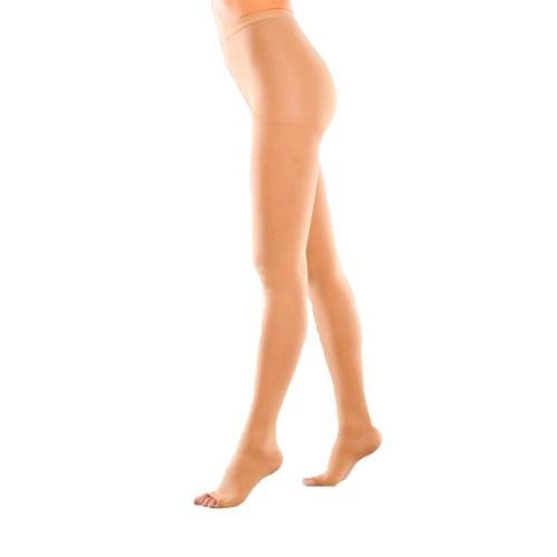Компрессионные колготы для женщин плотные, с открытым носком (3-й класс компрессии 34-46 мм рт.ст.)