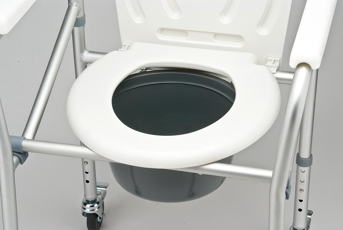 Кресло-коляска с санитарым оснащением Armed FS695S