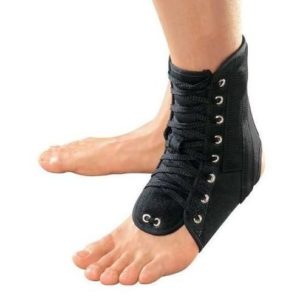 Ортез на голеностопный сустав со шнуровкой