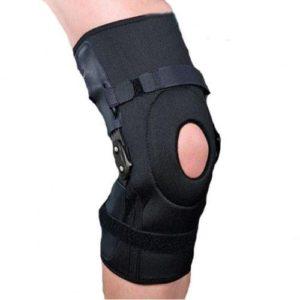 Ортез на коленный сустав, с полицентрическими шарнирами, регулируемый