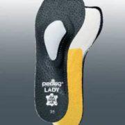 Женские ортопедические полустельки для открытой и закрытой модельной обуви с каблуком выше 7 см
