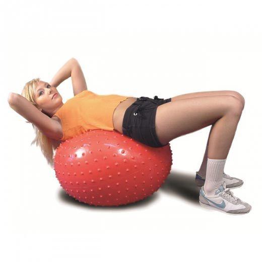 Мяч гимнастический (фитбол) игольчатый