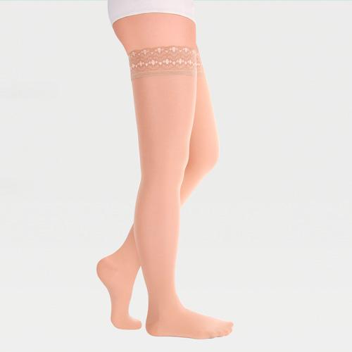улки с ажурной резинкой на силиконовой основе с закрытым носком транспарент полупрозрачные ID-301T