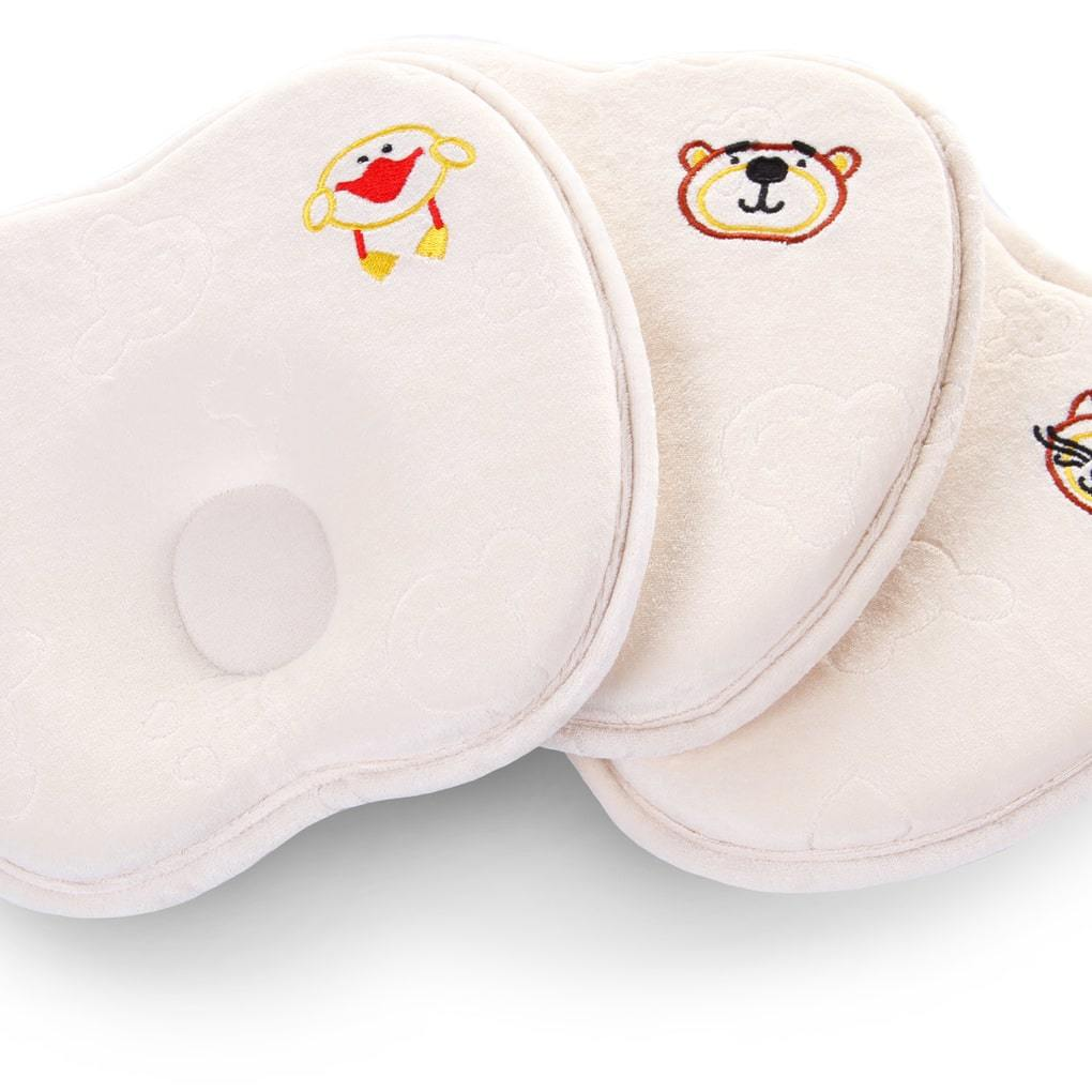 Подушка с эффектом памяти для детей от рождения до года. 23х25 см