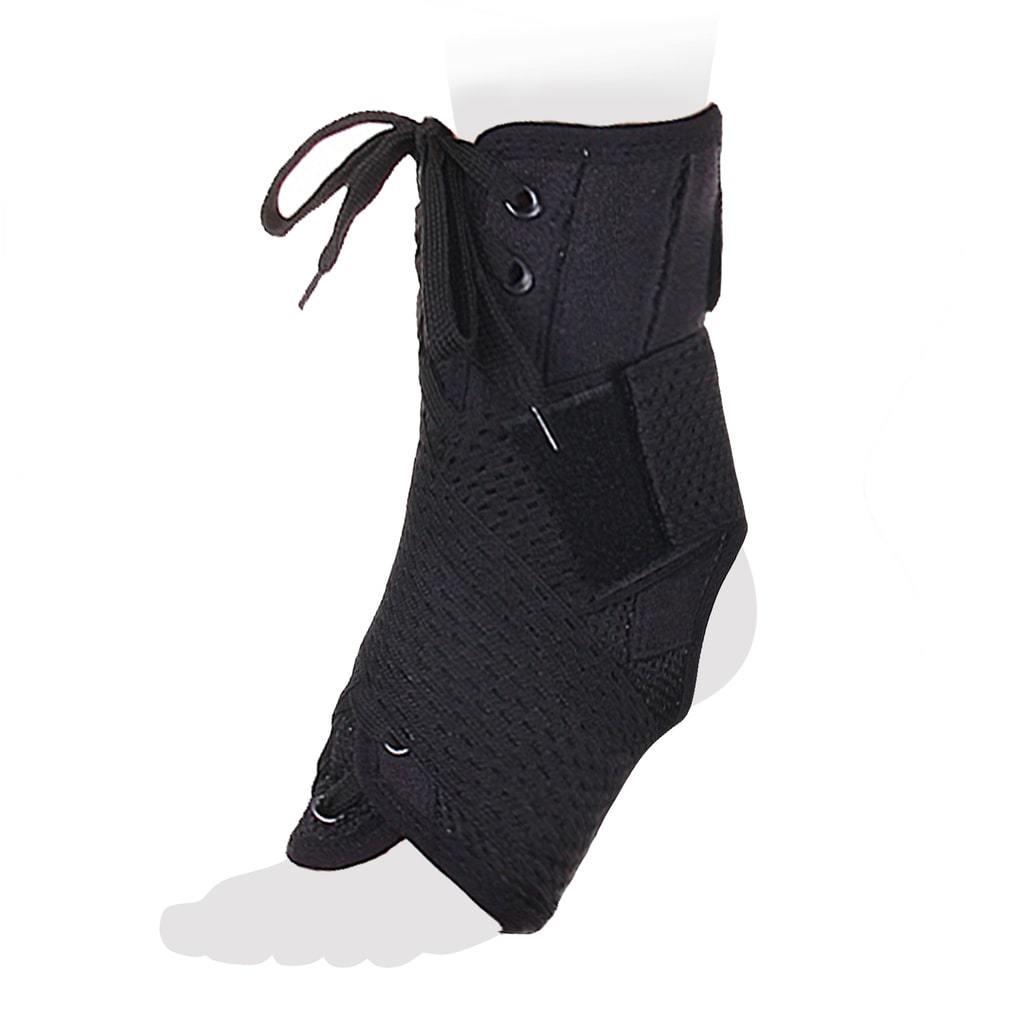 Бандаж на голеностопный сустав со шнуровкой и ребрами жесткости AS_ST_M