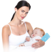 Ортопедическая подушка для кормления грудью детей от 0+ месяцев NANNY